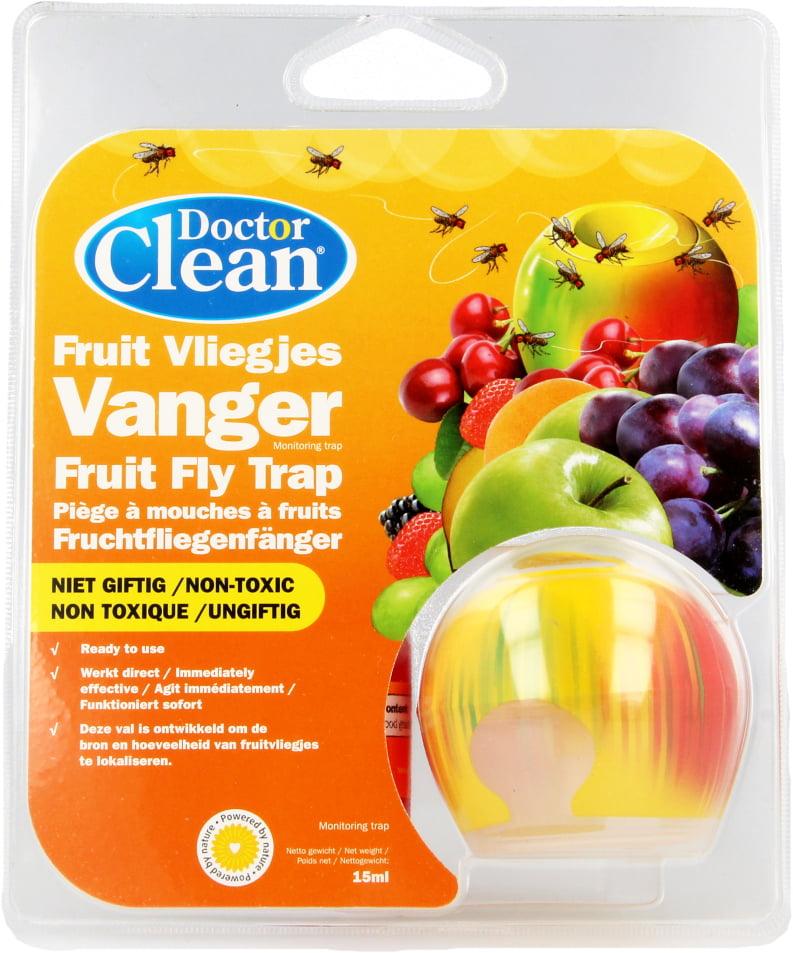 Doctor Clean fruitvliegjes vanger / val bij De Online Drogist